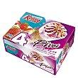 Pivot cono de helado de nata y fresa 4 unidades Estuche 280 g Kalise