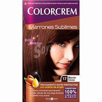 Colorcrem Tinte marrón cacao N.17 Caja 1 unid
