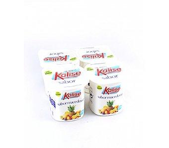 Kalise Yogur sabor macedonia Pack de 4x125 g