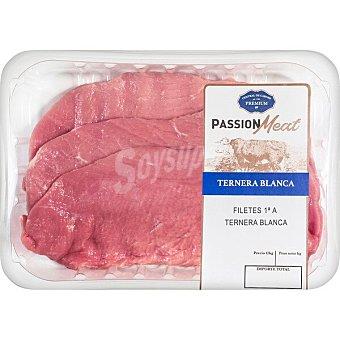 Passion meat Ternera blanca filetes de 1ª A peso aproximado Bandeja 350 g