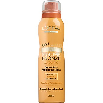Dermo Expertise L'Oréal Paris Autobronceador Sublime Bronze Automatic bruma seca para cuerpo Spray 150 ml