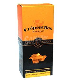 Creperolles Mini crepes con cheddar 125 g