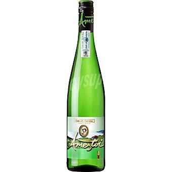 Ameztoi Vino blanco txakoli hondarribi zuri DO Txakoli de Getaria Botella 70 cl