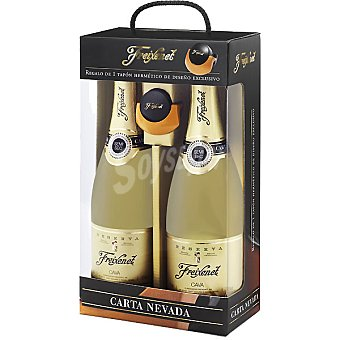 Freixenet Cava semiseco Carta Nevada Estuche 2 botellas 75 cl