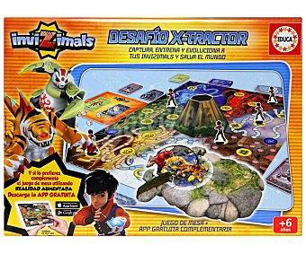 EDUCA Juego de mesa Invizimals Desafío X-Tractor, de 2 a 4 Jugadores 1 Unidad