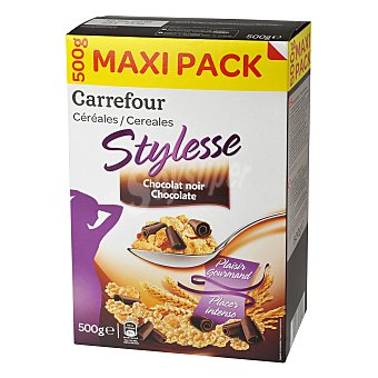 Carrefour Cereales con chocolate negro 500 g