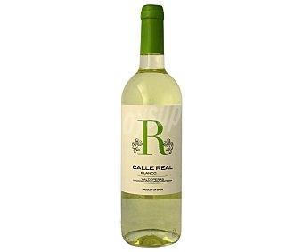 Valdepeñas Vino blanco con denominación de origen calle real Botella de 75 cl