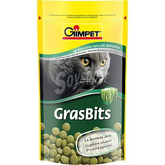 GIMPET Grasbits snacks de gato de vitamina natural Paquete 50 g