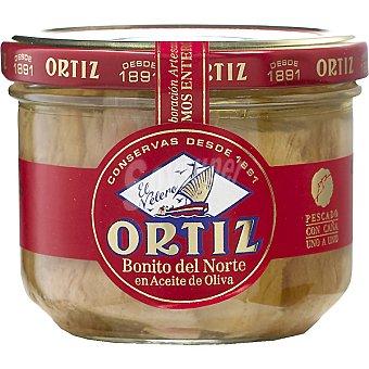 Ortiz El Velero Bonito del norte en aceite de oliva Frasco 180 g neto escurrido