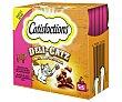 Snacks para gatos sabor a buey delicatz 25 g Catisfactions