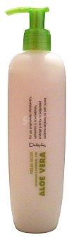 Deliplus Leche corporal hidratante aloe vera (dosificador) Botella 400 cc