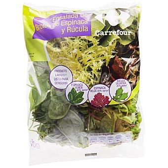 Carrefour Ensalada de espinacas Bolsa de 150 g