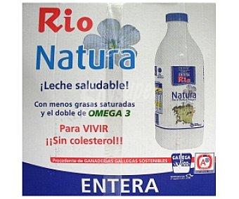 RÍO Natura Leche entera 6 Unidades de 1 Litro
