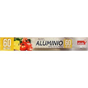 Aliada Papel de aluminio Rollo 60 metros