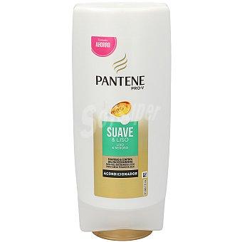 Pantene Pro-v Acondicionador suave y liso para cabello normal-grueso  Frasco 675 ml