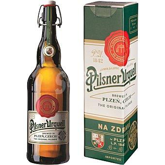 PILSNER URQUELL 174 ANIVERSARIO Cerveza rubia checa botella 1 l 1 l
