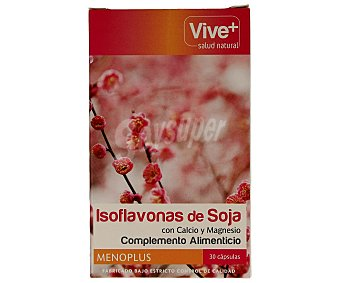 Viveplus Isoflavonas de soja 30 unidades