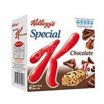 Special K Kellogg's Barritas Special K Chocolate negro Pack de 6 unidades x 21,5 g