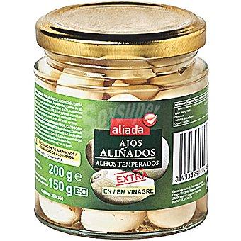 Aliada Ajos aliñados en vinagre Frasco 150 g neto escurrido