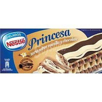 Nestlé Tarta Princesa de vainilla-choco Caja 600 ml