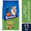 Adult pienso completo para perros adultos con pollo y cereales Saco 15 kg Brekkies Affinity