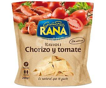 GIOVANNI RANA Ravioli chorizo y tomate Envase 250 g