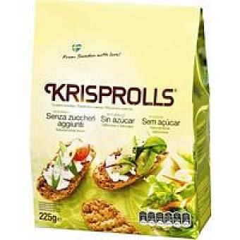 Krisprolls Panecillos suecos integrales sin azúcar 225 g