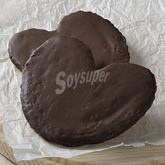 Carrefour Palmeras de chocolate Bandeja de 4 unidades