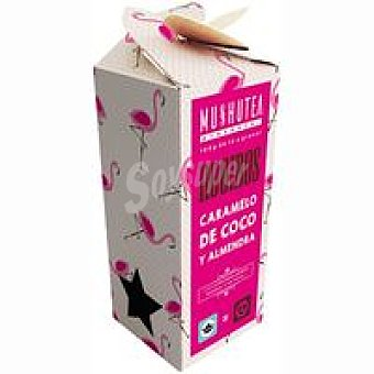Mushutea Rooibos de caramelo-coco-almendra Caja 100 g