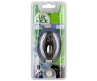 Air Wick Ambientador de Coche para Rejilla de Ventilación con Sistema Antifuga de Membrana y con Olor a Atlantida 1 Unidad