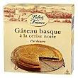 Pastel vasco con mantequilla relleno de cereza negra 450 g Reflets de France