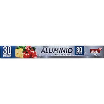 Aliada papel de aluminio rollo 30 metros