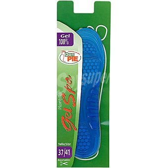 DON PIE Plantillas gel spa recortable talla 37-41