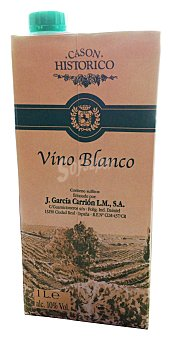 Cason Historico Vino blanco Brick 1 l