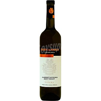 DELEA A MARCA Vino tinto cabernet sauvignon petit verdot de Andalucía Botella 75 cl
