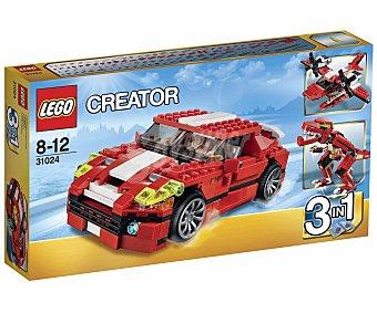 LEGO Juego de Construcciones Creator 3 en 1, Máxima Potencia, Modelo 31024 1 Unidad