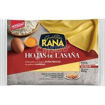 Rana Placas frescas de lasaña paquete 250 g