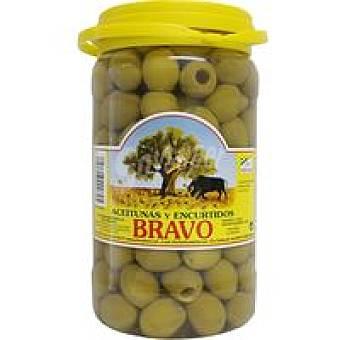 Bravo Aceitunas sabor manzanilla sin hueso Tarro 800 g