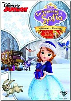 """Disney La princesa Sofía: """"fiestas en Encantia"""" DVD 1 ud"""