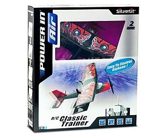 SILVERLIT Avión Biplano Teledirigido de Doble Ala 1 Unidad