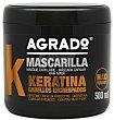 Mascarilla capilar keratina 500 ml Agrado