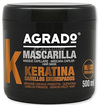 Agrado Mascarilla capilar keratina 500 ml