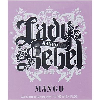 Mango Lady Rebel Eau de toilette femenina vaporizador 100 ml