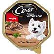 RECETA CAMPESINA alimento húmedo para perro con pavo y buey en salsa tarrina 150 g tarrina 150 g Cesar