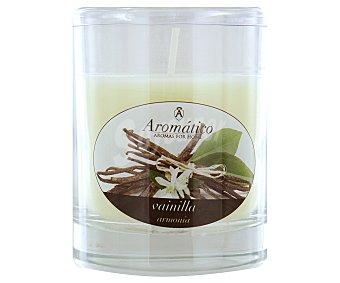 Aromático Vela en vaso perfumada con olor a vainilla, 8 centimetos 1 Unidad