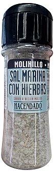 Hacendado Sal con hierbas molinillo (tapon negro) Bote 110 g