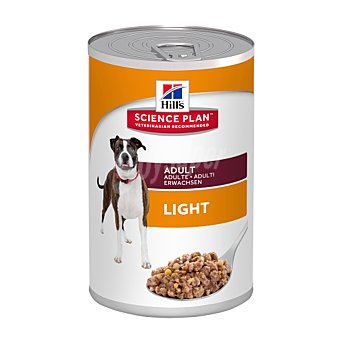Hill's Science Plan Comida para perros Canine Light  Lata 370 g