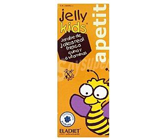 JELLY KIDS Jarabe de jalea real fresca quina y 6 vitaminas para niños , 250 Mililitros