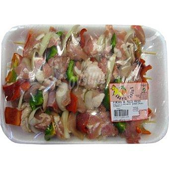 GRANJA CANARIA Pinchos de pollo fresco peso aproximado Bandeja 1,3 kg