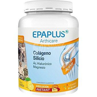 Epaplus Colágeno + Silicio + Ác. Hialurónico contribuye al funcionamiento de huesos y músculos para 30 días con Vitaminas C, B1, B2 y B6 sabor limón arthicare Bote 326 g